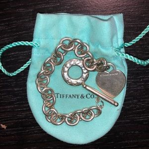 Tiffany & Co. Heart Tag Toggle Bracelet (vintage)